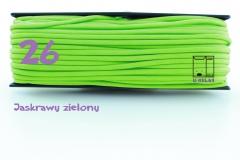 26 jaskrawy zielony