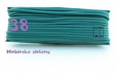 38 niebiesko zielony