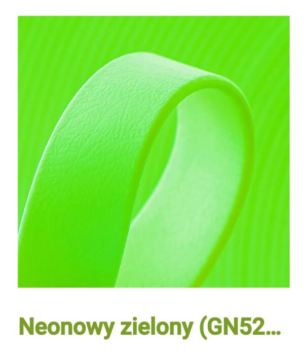 Biothane neon zielony