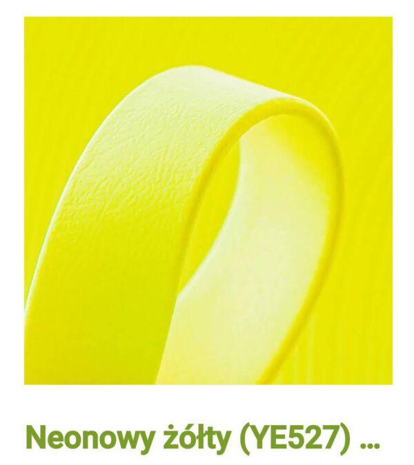 Biothane neon żółty