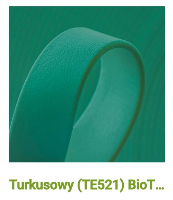 Biothane turkusowy